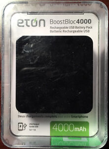 BoostBloc 4000 Smart Phone Backup Battery New in Box West Island Greater Montréal image 1