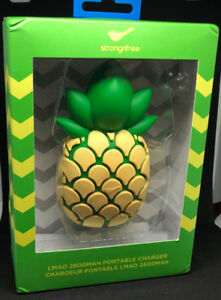 STRONGFREE PINEAPPLE PORTABLE PHONE CHARGER 2600MAH
