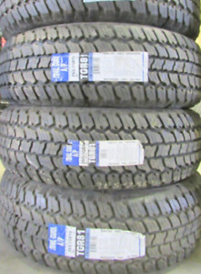P265/75R16 NEW TIRES Sigma Trail Guide A/P These have 100% Tread