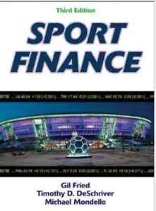 Sport Finance-3rd Edition Hardcover