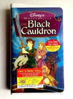 Disney Masterpiece The Black Cauldron Sealed Clamshell Case VHS