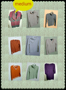 Ladies Sweaters -Medium