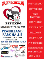 2018 SASKATCHEWAN PET EXPO