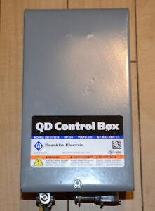 Boîte de contrôle HP¾ Franklin Electric (pompe submersible)