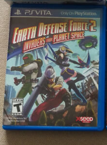 Earth Defense Force 2 PSVITA