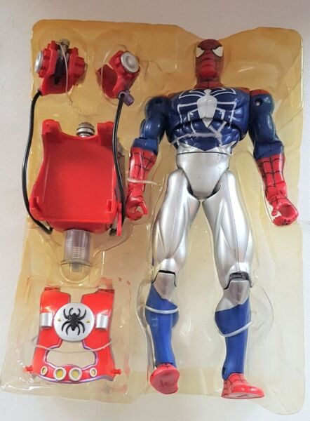 Spiderman Action 10 inches Figurine, Marvel Comics, Superhero with Powerful Water web Blaster