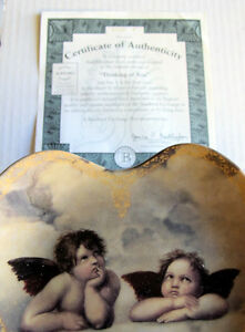 COLLECTOR PLATE (HEART SHAPED) Kitchener / Waterloo Kitchener Area image 2