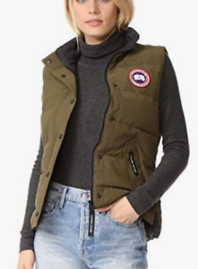 XS CANADA GOOSE GREEN VEST