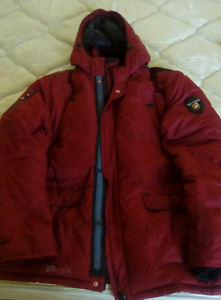 Mens point zero winter coat