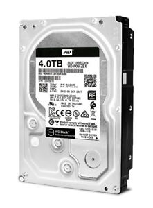 WD Black 4TB Performance Desktop Hard Drive - 7200 RPM - NEW
