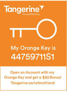 New Tangerine clients get Bonuses from $50-$150 up to $3250!