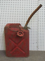 Vintage Army Jeep Gas Can