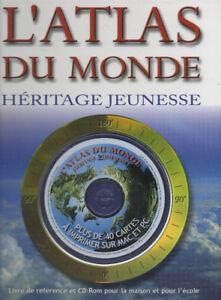 ATLAS DU MONDE -L' + CD-ROM