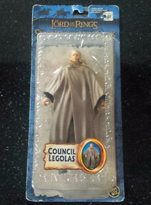 Toy Biz COUNCIL LEGOLAS LOTR Lord of the Rings Action Figure MOC