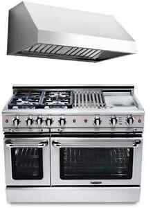"Capital Precision Series GSCR484GN 48"" Pro-Style Gas Range with"