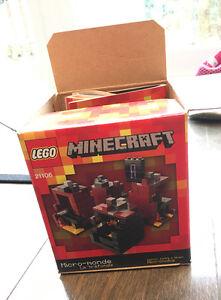 Minecraft Lego The Nether