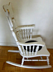 Antique rocker, recently restored and hand painted