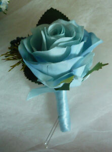 "Light Blue Is Back For 2017 ""Wedding Bouquet Flowers Set"" London Ontario image 5"