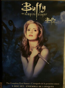 Selling Buffy the Vampire Slayer Seasons 1-3 on DVD