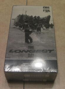 THE LONGEST DAY ~ 2 VHS Set ~ CBS FOX Video ~ Darryl F. Zanuck