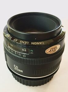 Canon EF 50mm f1.8 lens . Metal mount