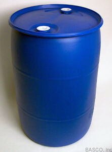 Seal top small plastic barrels/drum with two bung hold