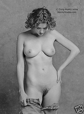 Black & White Fine Art Nude, Helena 28622.46, 8.5x11 signed photo by Craig Morey
