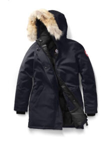 Women's Canada Goose Victoria Parka XS/Navy/Excellent condition