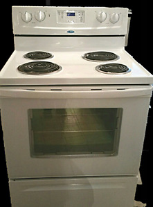 """Full size Electric Stove , Whirlpool, 30 """"wide, for sale"""