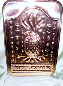 Copper Pineapple Mould