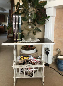 """"""" Re- imagined  """"Magazine Side Table"""