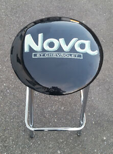Chevy Nova stool for garage, mancave or bar.