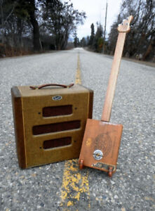 CUSTOM MADE CIGAR BOX GUITARS