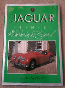 JAGUAR. THE ENDURING LEGEND by Nicky Wright