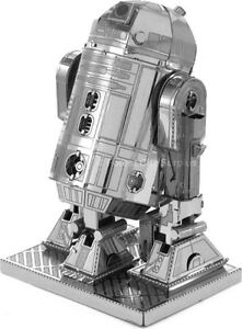 STAR WARS R2D2 - BRAND NEW ALL METAL 3D COLLECTIBLE - A Unique Gift Idea to Celebrate the Movie!