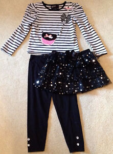 Three Piece Outfit - Size 4 T - like new!