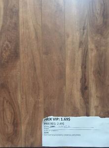 RABAIS!!! $1.69/PC  FLOTTANT SPALTED MAPLE 12MM !!! West Island Greater Montréal image 1