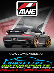 AWE Tuning Products Now Available at Limitless Motorsports!