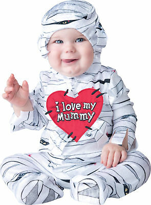 InCharacter I Love My MUMMY  Baby Costume  XSmall  (0-6 months ) New