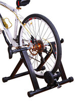 SOOZIER- FOLDING INDOOR MAGNETIC BICYCLE TRAINER STAND-  NEW