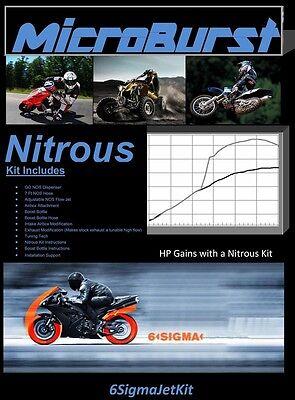 Usado, MicroBurst Kawasaki KR 1 S 250 KSR1 50 NOS Nitrous Oxide Kit & Boost Bottle segunda mano  Embacar hacia Argentina