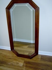 ANTIQUE HALL CABINET WITH MATCHING MIRROR London Ontario image 7