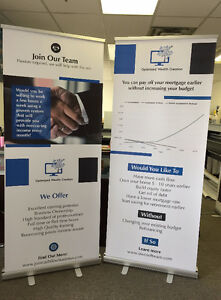 Retractable Banner, Roll Up Banner, Show Stand &Printing Service