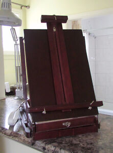 Artist Easel and Storage  (Good Condition)