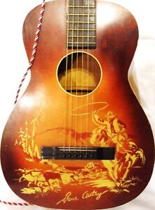Gene Autry Guitar 1948- Made By Harmony