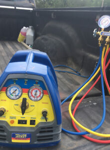 Yellow Jacket refrigerant recovery system (model 95762)