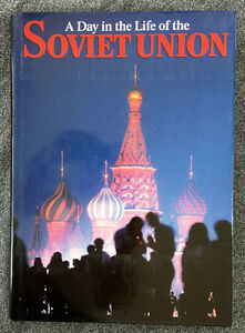A DAY IN THE LIFE OF THE SOVIET UNION photo book - 240 pages