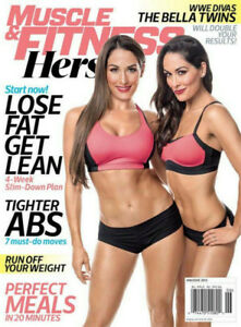 Muscle And Fitness May/June 2015 WWE Bella Twins Nikki & Brie