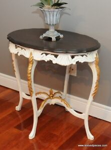 Vintage French Hall / Occasional Table