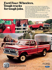 Looking for 1968-1979 4x4 Fords